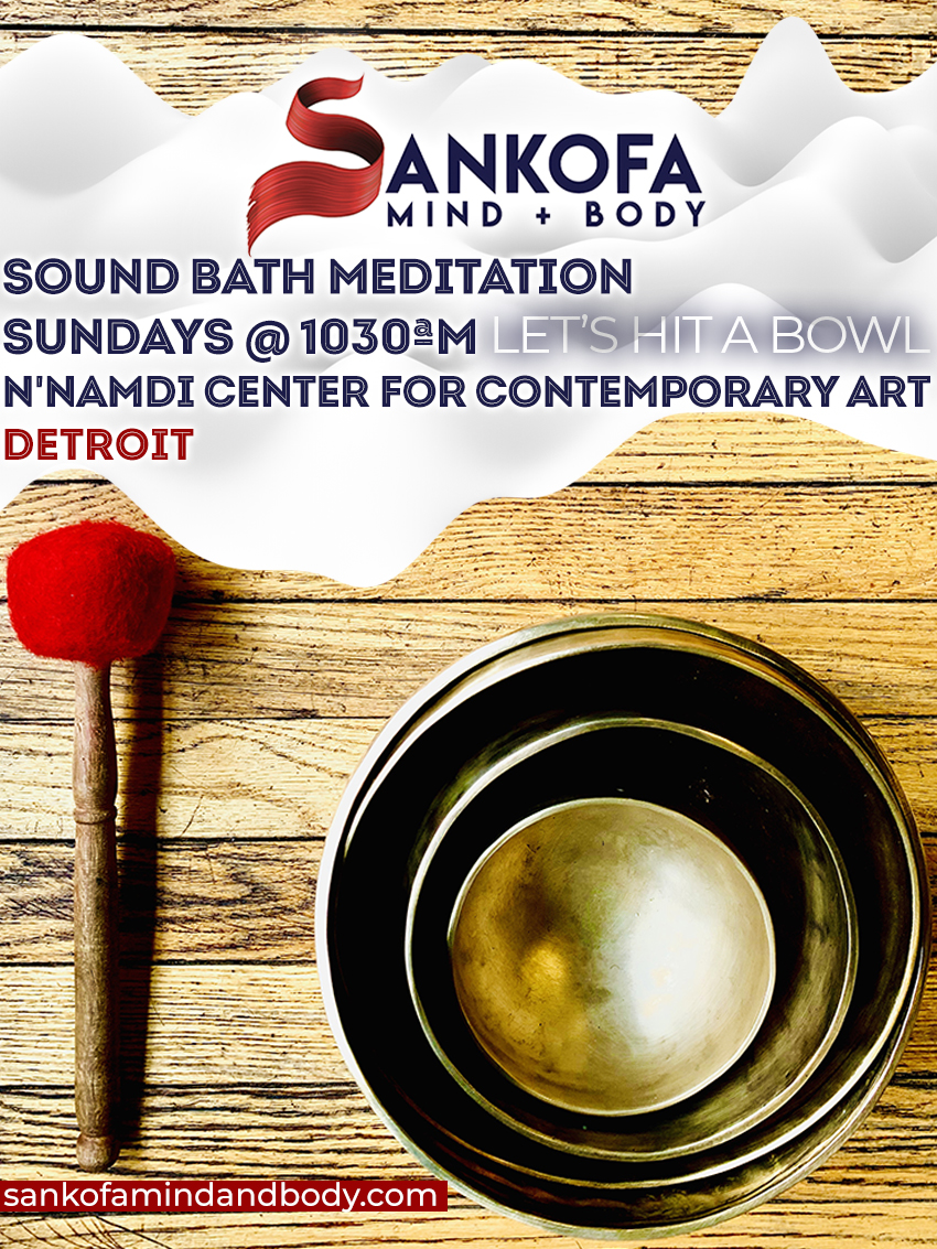 Sunday Sound Bath Meditation – Detroit