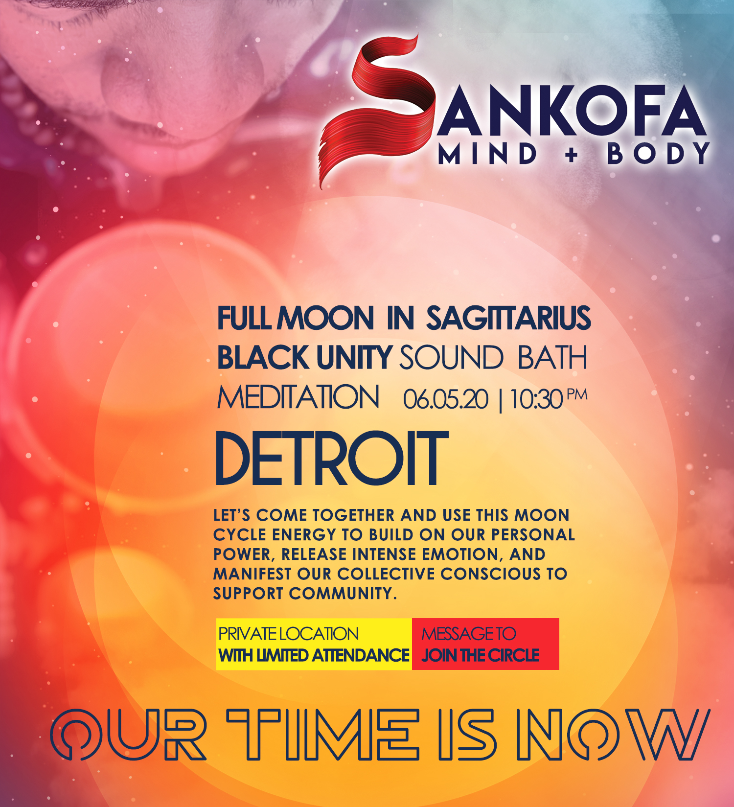 Full Moon in Sagittarius Sound Bath Meditation!