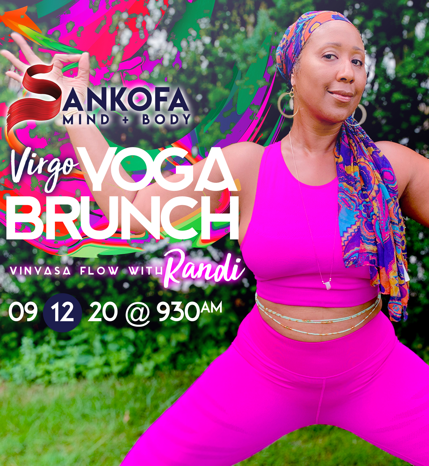 September 2020 Virgo Yoga Brunch