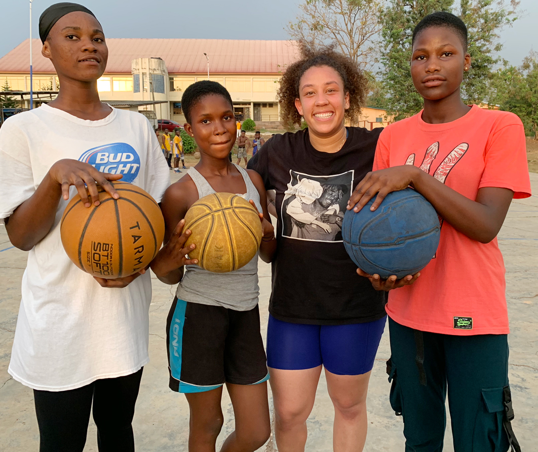 Mawuvi Basketball Fellowship Donation Dive, Hohoe Ghana